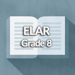 Middle School Grade 8 English Language Arts and Reading